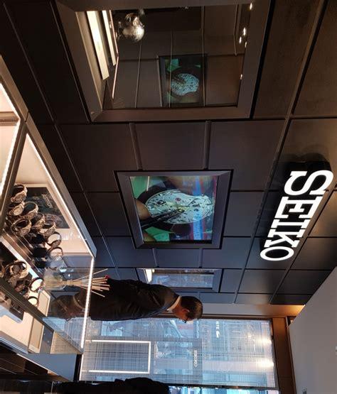Seiko Store seiko opens global flagship store in s