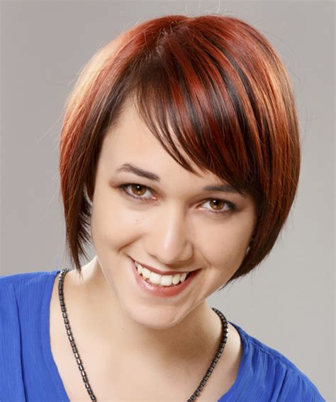 show me shoulder length hairstyles medium length angled bob pictures show front and back view