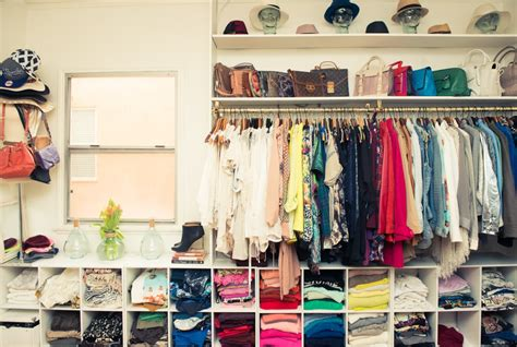 Fashion Closet by Five Easy Ways To An Organised Wardrobe Stay At Home