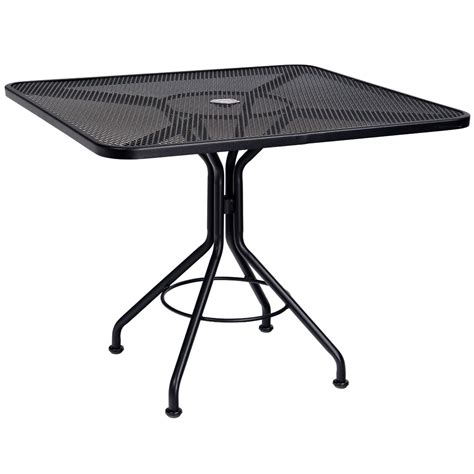 Umbrella For Bistro Table Woodard 30 Quot Square Contract Plus Bistro Umbrella Table 280027