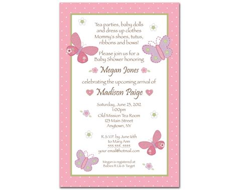 invitation text layout tips easy to create baby shower invitation wording with