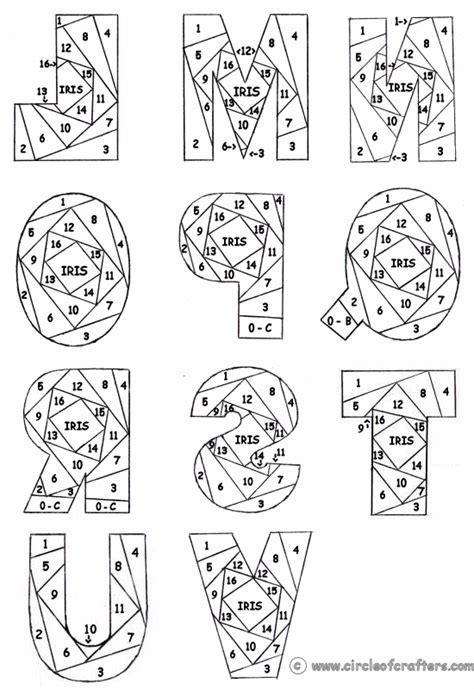 Iris Paper Folding On Pinterest Iris Folding Pattern Iris Folding Templates And Iris Folding Letter Folding Template