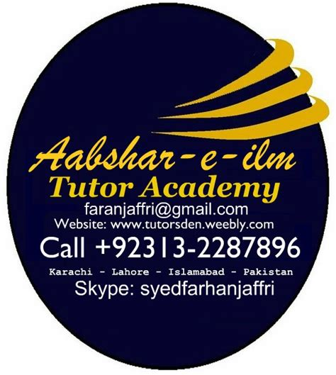 Mba Hr Subjects In Pakistan by Home In Lahore Home Tutor In Model Town Home