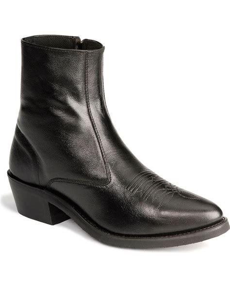 Zipper Ankle Boots west s zipper western ankle boot mz7082 ebay