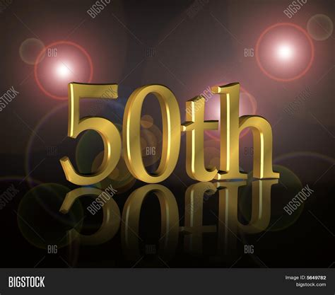 50th Birthday Party Invitation Image Photo Bigstock 50th Anniversary Powerpoint Template