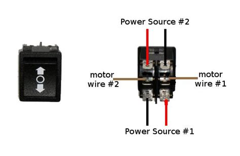 wire  dpdt rocker switch  reversing polarity  steps