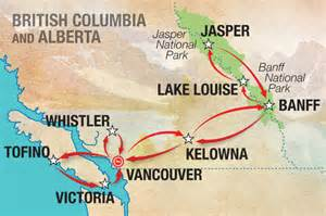 Western Canada Map by Western Canada Map Moose Bus Network