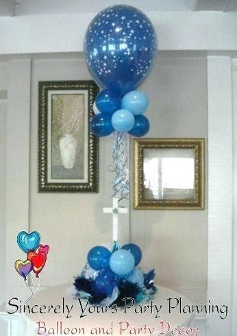 centerpieces for christening tables baptism