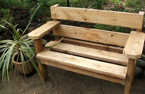 garden benches woodworking plans easy  follow