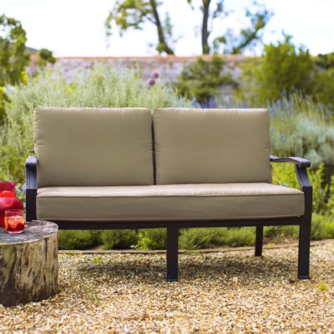 Sofa Bench Uk by 2018 Oliver Classic 2 Seater Sofa Bench Bronze