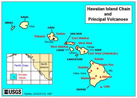 volcanoes in hawaii map hawaii seismic hazards