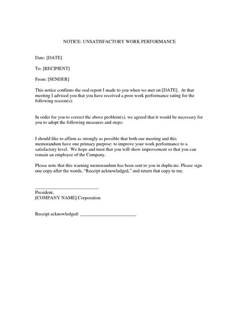work notice layout work notice letter template 28 images attendance