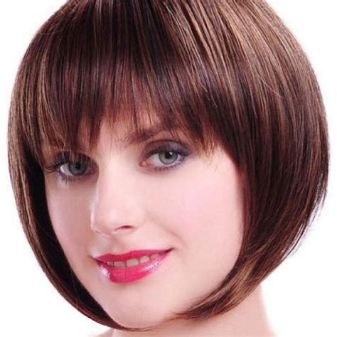 bob hairstyles with bangs for fine hair short bob haircuts chic short bob haircuts which looks