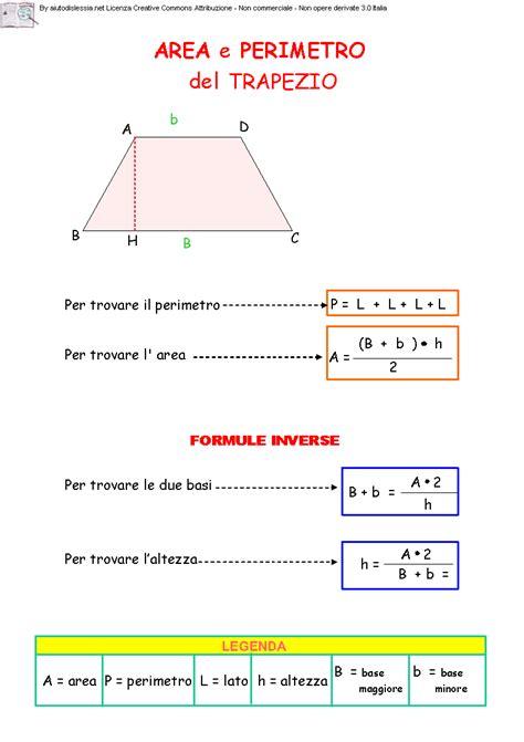 somma angoli interni trapezio 03 area trapezio cornicette math algebra e education
