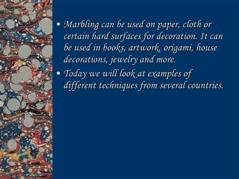 Where Was Paper Marbling Invented - marbling