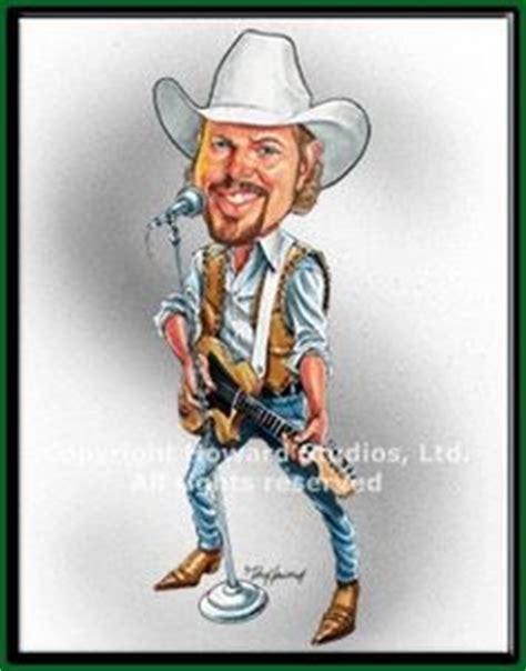 toby keith ryman charlie daniels art charlie daniels cartoon caricature