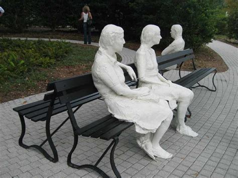 three figures and four benches george segal three figures and four benches 1979