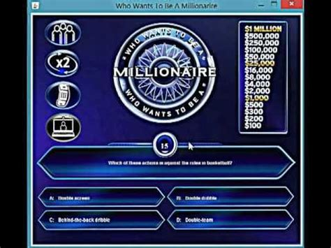 who wants to be a millionaire game powerpoint template - un mission, Powerpoint templates