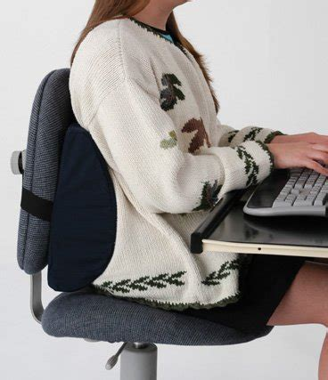 relax car seat lumbar cushion chair office back waist