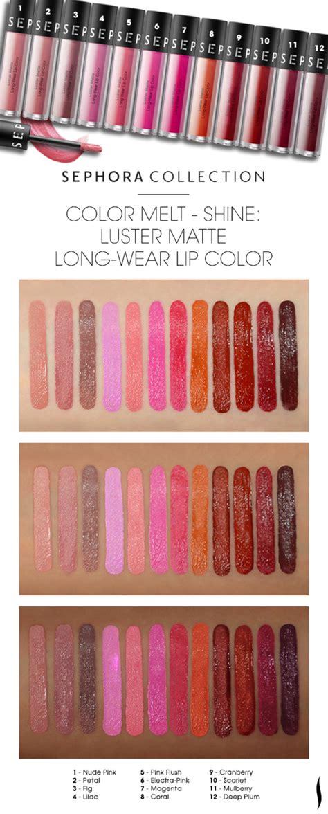 Lipstick Sephora Matte sephora glossy sephora collection luster matte