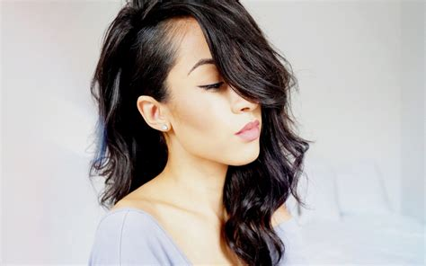 haircuts for women shaved on side and longer on tops unique hairstyle ideas for medium haircuts 2017 haircuts