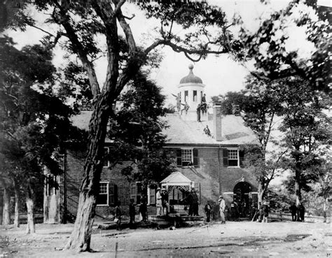 Virginia Civil Court Records File Fairfax Court House During The Civil War Jpg Wikimedia Commons