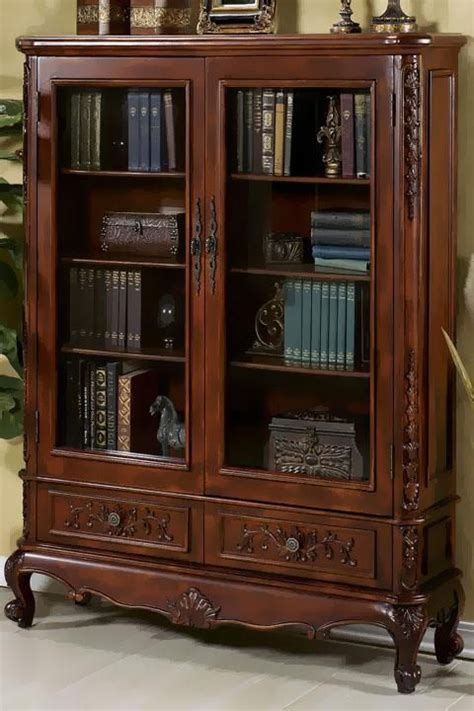 the beautiful antique bookcase it s wood