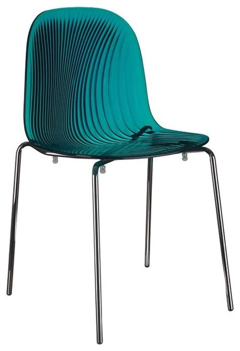 Swirl Chair swirl dining chair contemporary dining chairs by heane