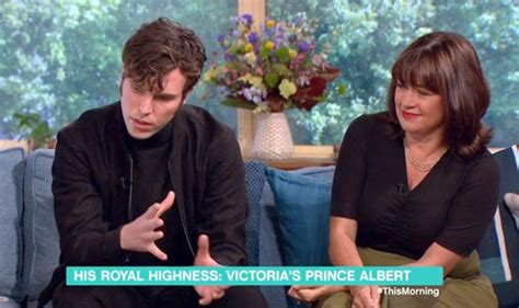 tom hughes on this morning victoria season 2 did creator daisy goodwin confirm that