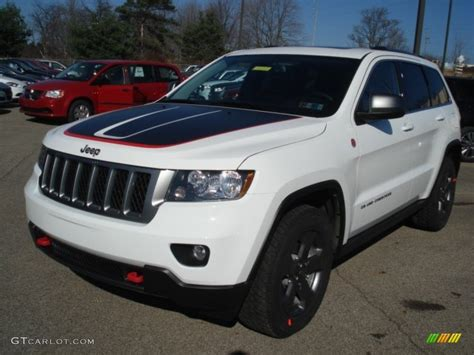 jeep trailhawk white 2013 bright white jeep grand trailhawk 4x4