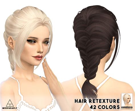 sims 4 cc hair my sims 4 blog alesso and skysims hair retexture by