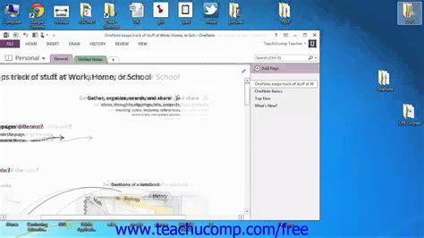 onenote tutorial youtube onenote 2013 tutorial the title bar microsoft training