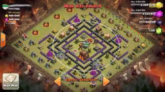 Best clash of clans th10 base war