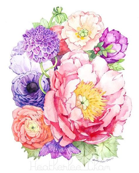 libro watercolour flower portraits 790 best images about clip art garden on hydrangeas decoupage and manualidades