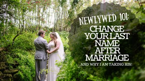 Getting Married Changing Your Last Name by A Guide To Changing Your Last Name After Getting Married