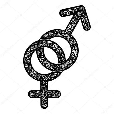 e dona simboli di uomo e donna vettoriali stock 169 krivoruchko
