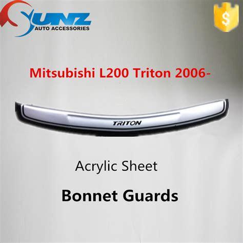 Door Guard Mobil Triton Mitsubishi L200 Triton 2006 Door Visor Bonnet Guard