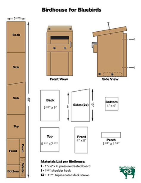bluebird house design pin bluebird house plans for mountain western and eastern bluebirds on pinterest