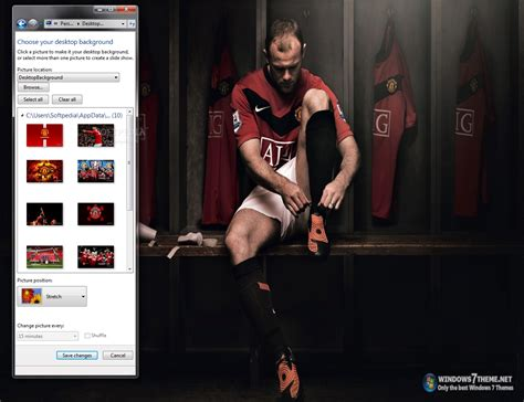 download themes windows 7 manchester united 2013 manchester united windows 7 theme download