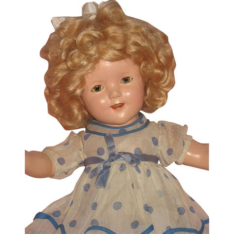 composition on doll composition shirley temple doll from pearlsgirls on ruby