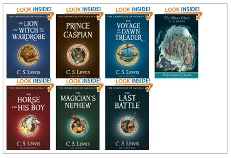 chronicles of narnia series author deal of the day the seven books of