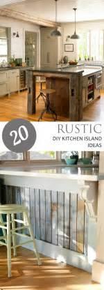 rustic kitchen island ideas 20 rustic diy kitchen island ideas pickled barrel