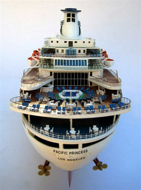 princess cruises love boat theme quot the love boat quot pacific princess model ship