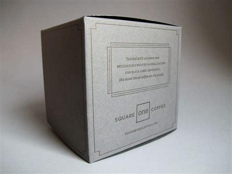 Coffee Box square one coffee box printers
