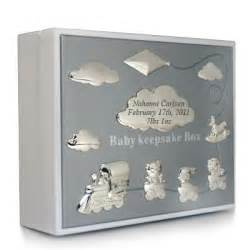 Personalization Wedding Gifts 018874 Baby Keepsake Box White Things Engraved