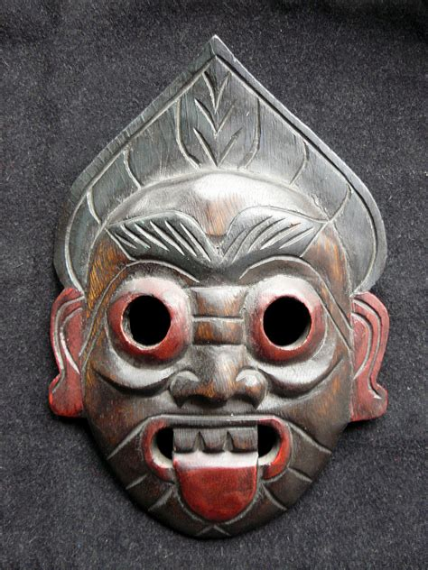 Masker Java ritual masks at 3worlds the shamanism website