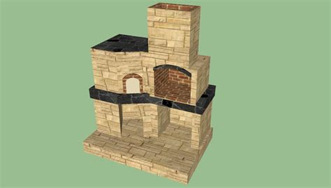 backyard brick oven plans brick oven plans howtospecialist how to build step by step diy plans
