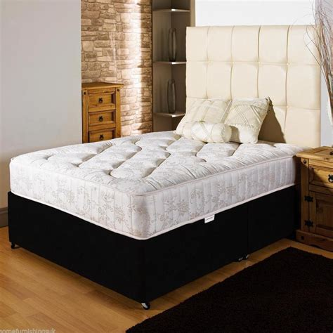 3 4 bed headboard orthopedic divan bed set mattress headboard size 3ft