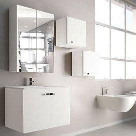 mueble de bano vega  puertas  cm laminado roble blanco espejo camerino  cm lava