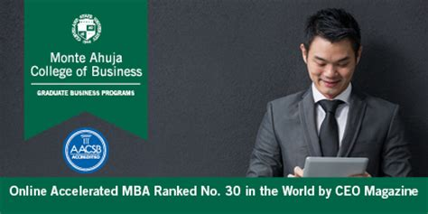 S Accelerated Mba by Csu Accelerated Mba Ranked 30 In The World By Ceo